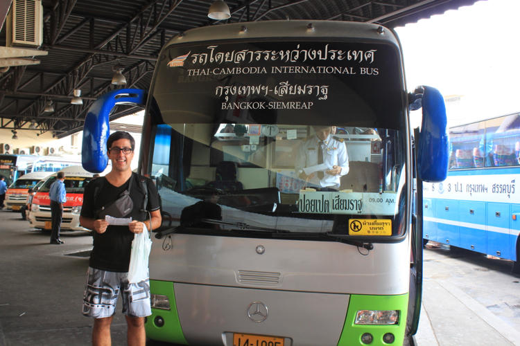 австобус Бангкок-Сием риеп