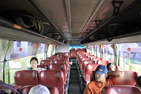 Sokha Komartep Bus (Inside)