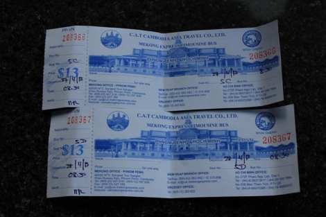 Mekong Express Bus Tickets to Ho Chi Minh, Vietnam
