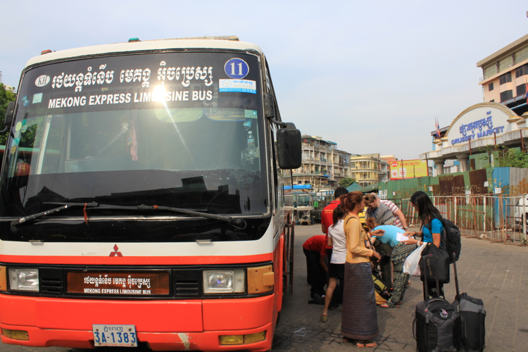 Direct Bus from Phnom Penh, Cambodia to Ho Chi Minh City