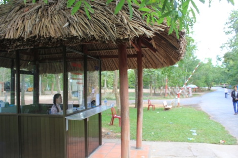 Cu Chi Tunnel Ticket Booth