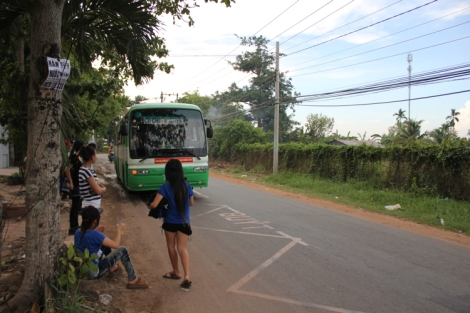 Bus #79 back to Cu Chi bus terminal