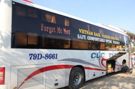 Bus from Nha Trang to Hoi An