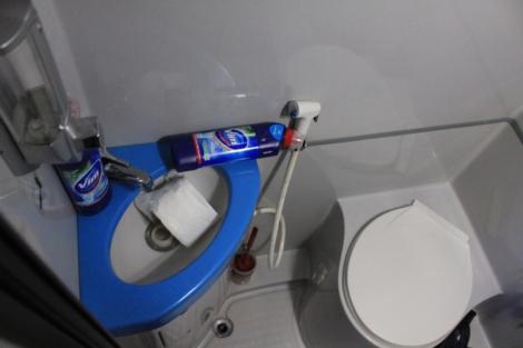 Clean toilet :O