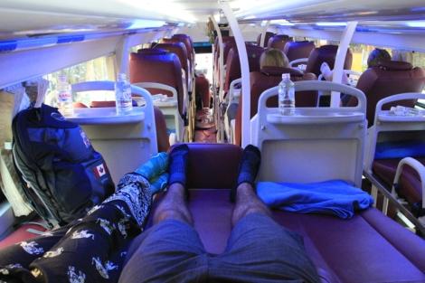 Leg space!