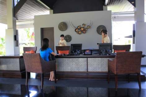 Anantara Vacation Club lobby checking in