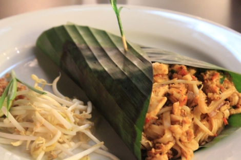 Overpriced pad thai