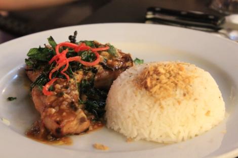 Overpriced pork chop
