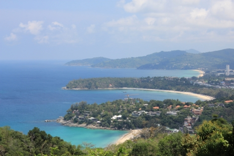 View from Karon View Point. 3 beaches!