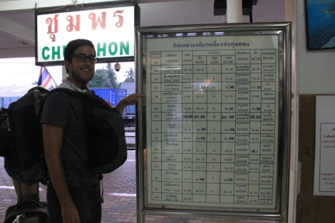 The train tickets were part of the package we purchased in Koh Tao which included the ferry and transfer