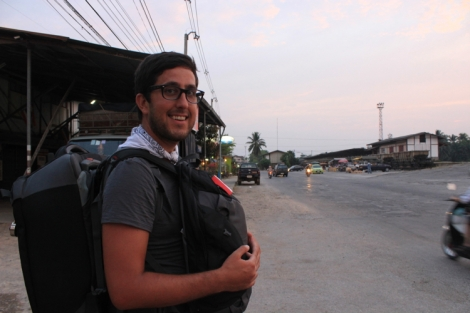 Exploring the wilds of Chumphon. Not much happening...