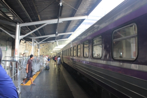 Platform interior at Hua Lamphong station