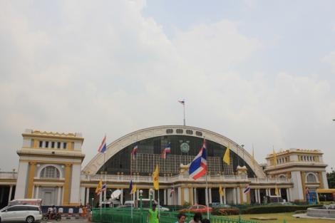 Hua Lamphong station exterior