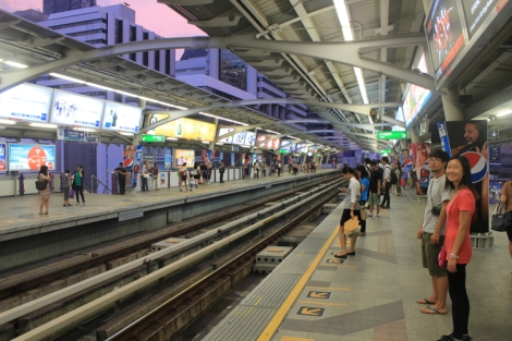 BTS Skytrain platform