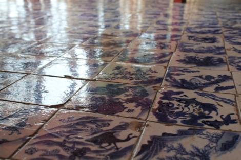 Yup, you guessed it: more floor tiles!
