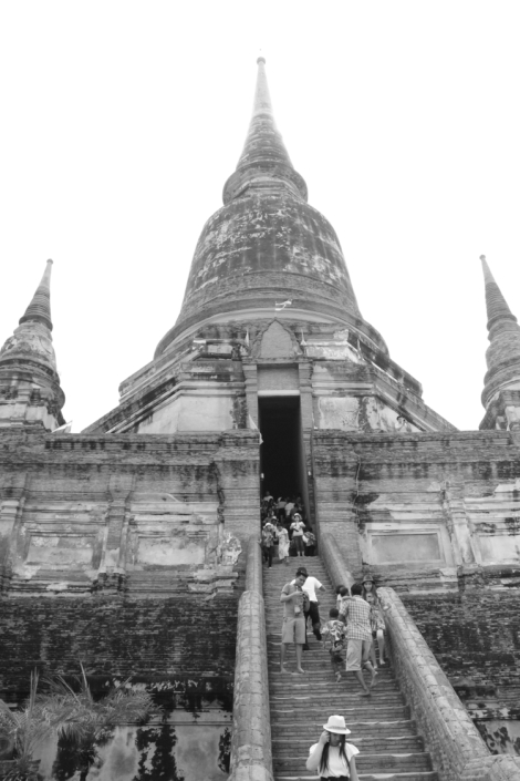 Getting closer to the stupa