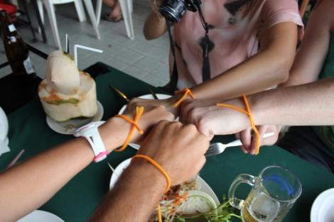 Buddhist bracelets unite!